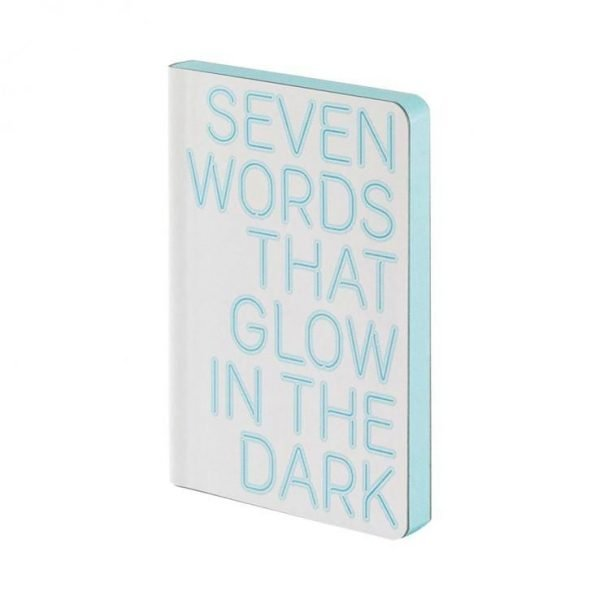 nuuna notebook graphic glow s seven words that glow in the dark white 1 738x738 1
