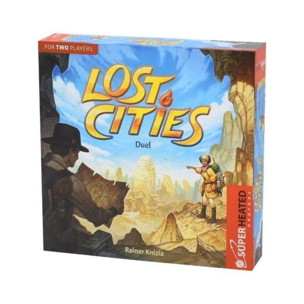Lost Cities Duel The Card Game