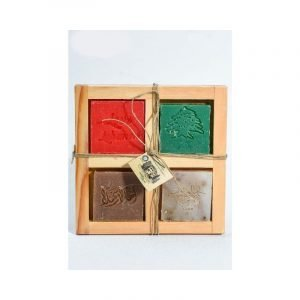 Wooden box - 4 pieces