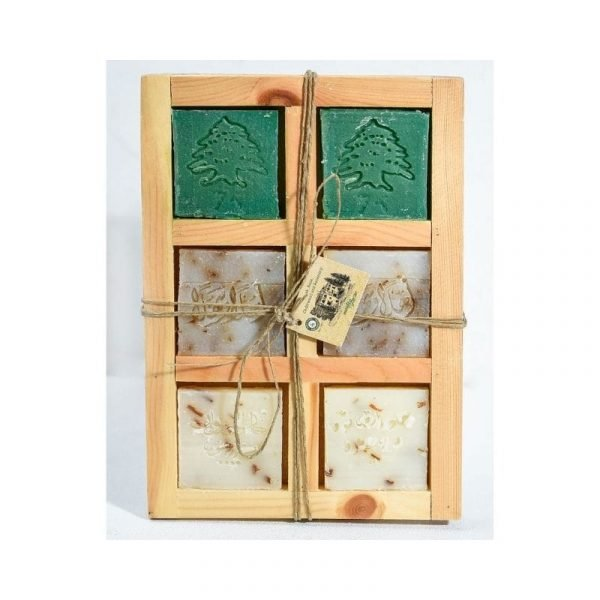 Wooden box - 6 Pieces