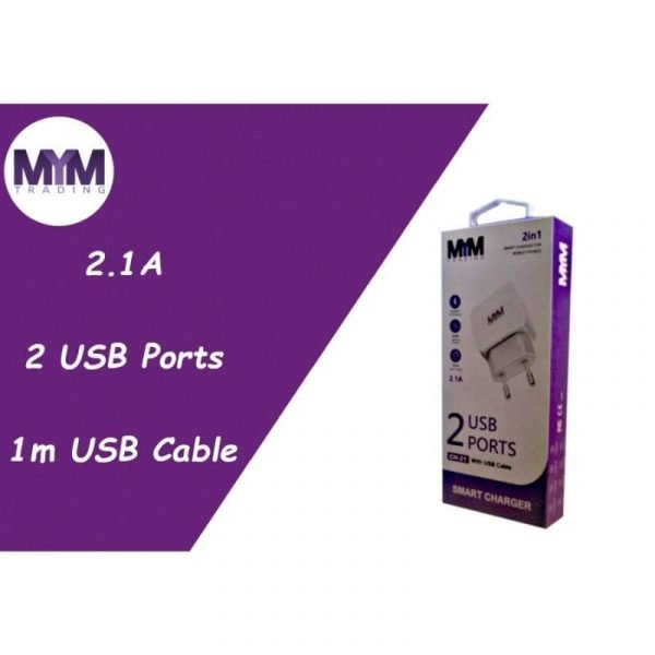MYM Phone Charger 2.1A